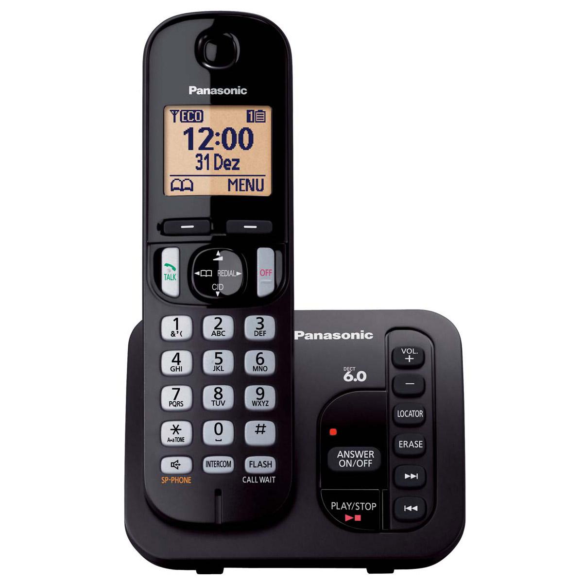 Telefone sem fio viva voz com identificador de chamadas e for Ministerio de seguridad telefonos internos