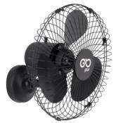 Ventilador de Parede Oscilante 50cm Preto 127/220V V50P