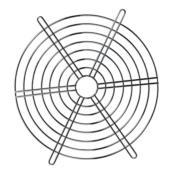 Grade Metálica Cromada Ventisilva RAX