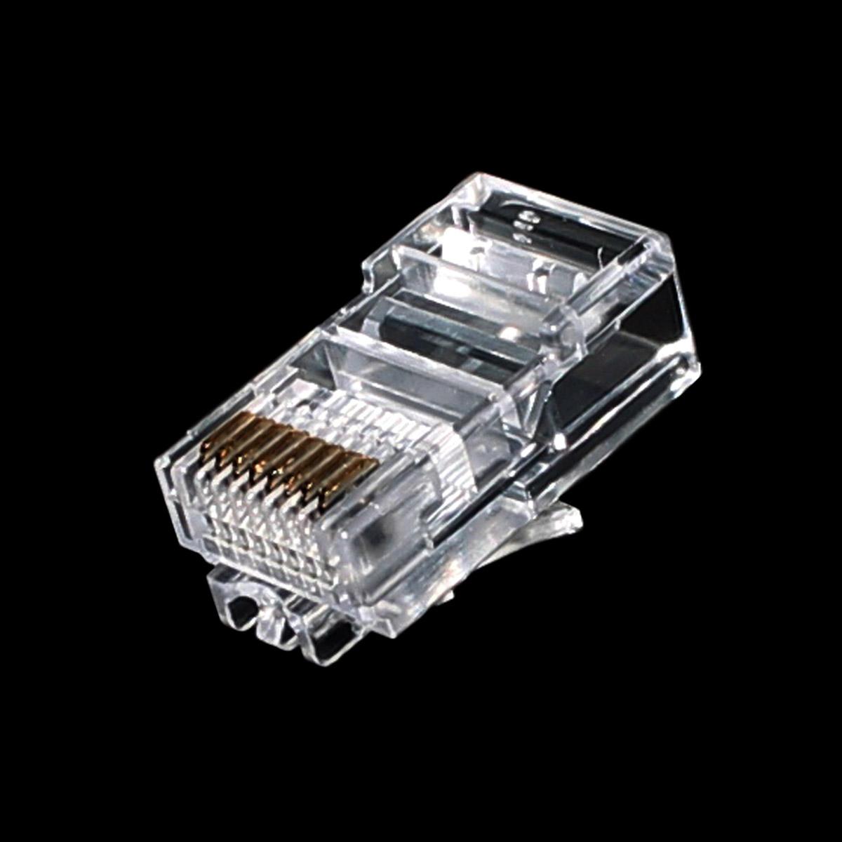 Conector Rj45 Macho Amp Commscope Eletrope 231 As Comercial